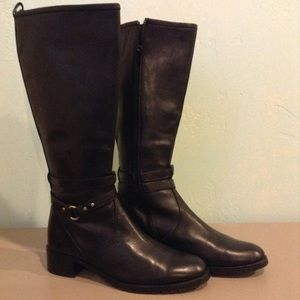Naturalizer black Riding boots!
